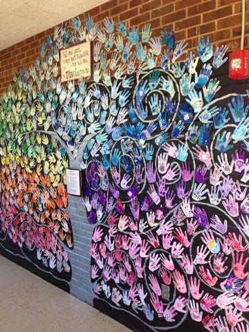 Inspiring Art Rooms - Walls Can Teach - The Arty Teacher
