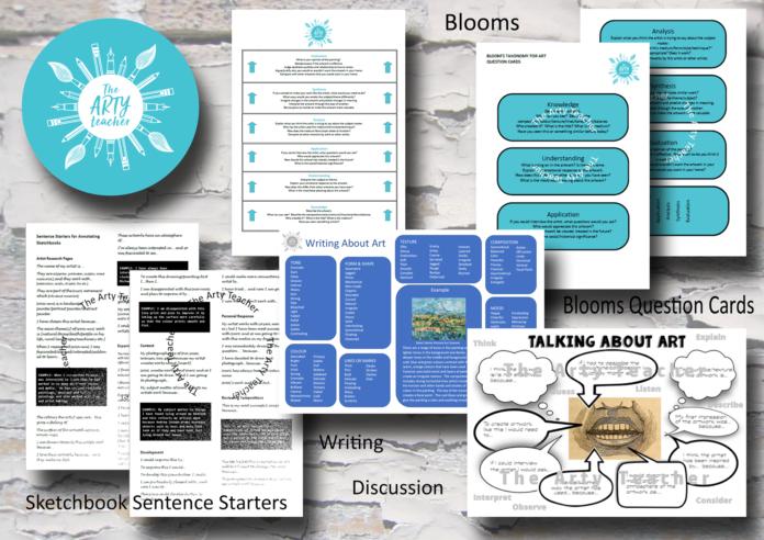 Art Literacy Packet for Art Teachers