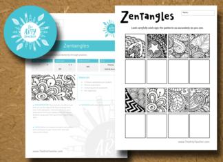 Zentangles Sub Lesson